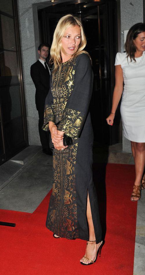Celebs Attend Naomi Campbell's Olympic Celebration Dinner