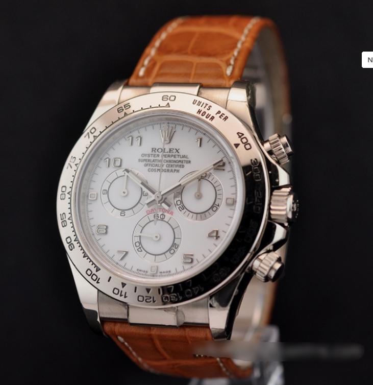 6757ef78f18  1 Relógio Rolex Daytona 40mm em ouro branco–  AQUI!